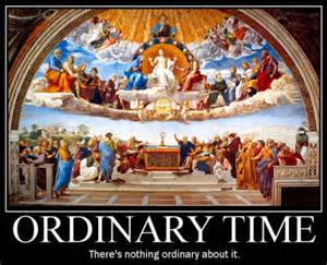 Image result for ordinary time images